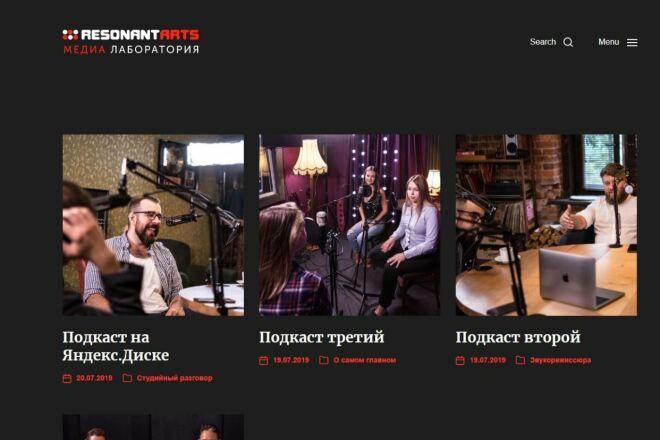 Скопировать Landing page, одностраничный сайт, посадочную страницу 50 - kwork.ru
