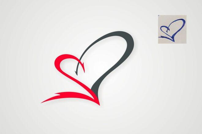 Логотип по образцу в векторе в максимальном качестве 93 - kwork.ru