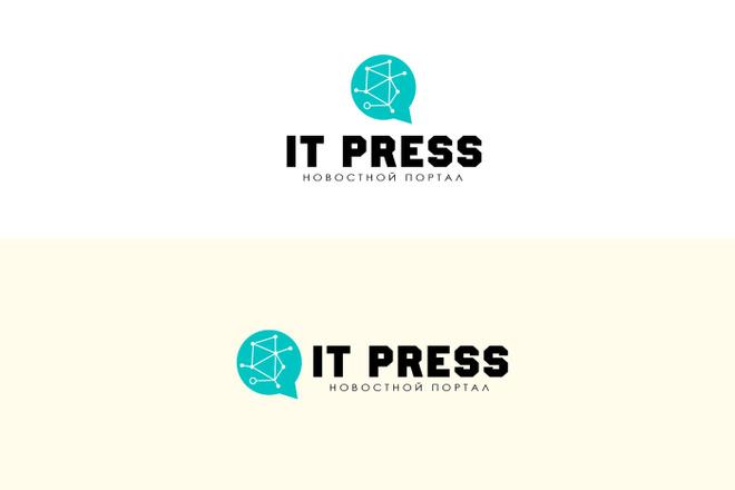 Создам 2 варианта логотипа + исходник 60 - kwork.ru