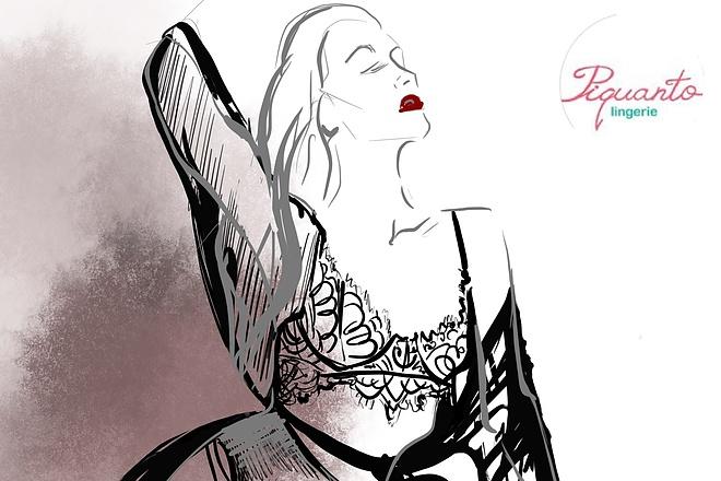 Сделаю иллюстрацию в стиле фэшн иллюстрации 13 - kwork.ru