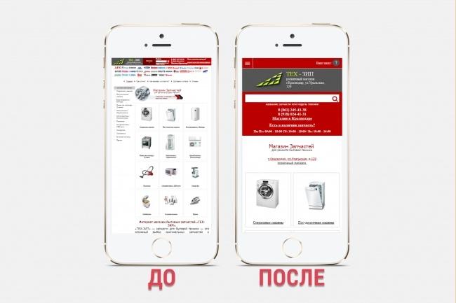 Адаптация сайта под все разрешения экранов и мобильные устройства 86 - kwork.ru