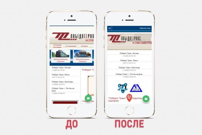 Адаптация сайта под все разрешения экранов и мобильные устройства 83 - kwork.ru