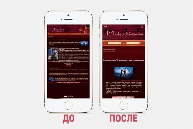 Адаптация сайта под все разрешения экранов и мобильные устройства 96 - kwork.ru