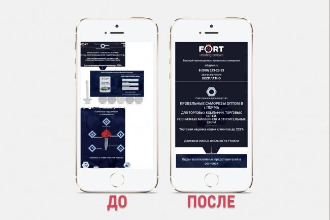 Адаптация сайта под все разрешения экранов и мобильные устройства 94 - kwork.ru