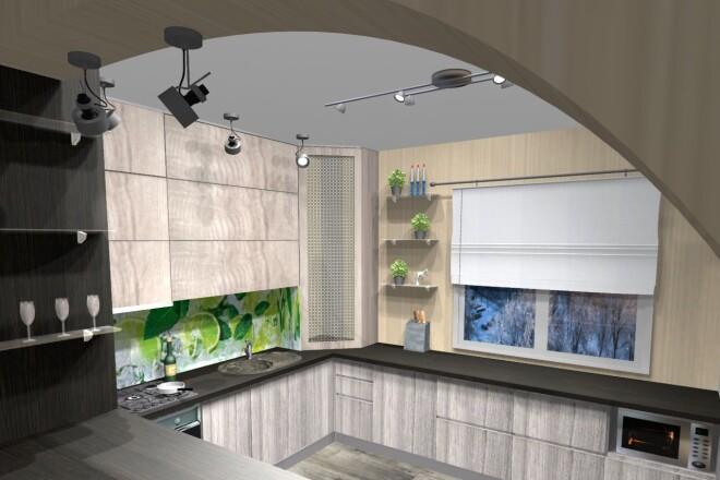 Проектирование корпусной мебели 23 - kwork.ru
