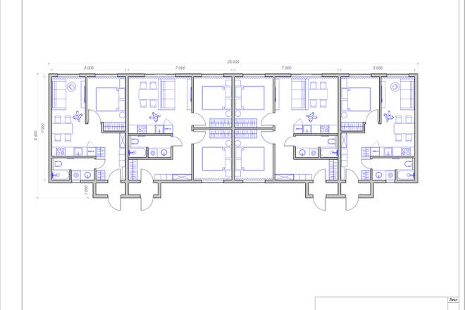 Планировочное решение квартиры, дома. Перепланировка. Планировка 22 - kwork.ru