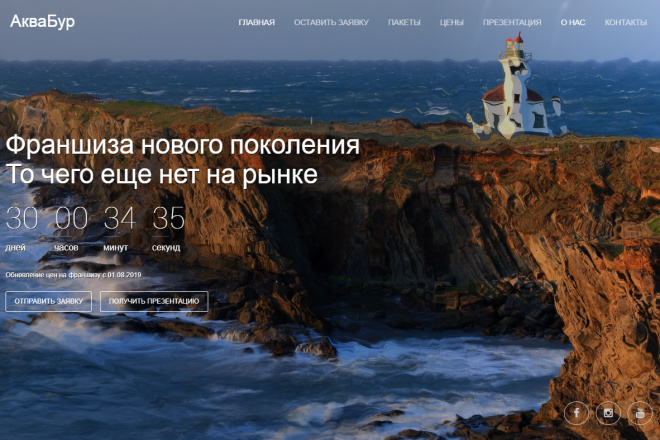 Копия сайта, landing page + админка и настройка форм на почту 30 - kwork.ru