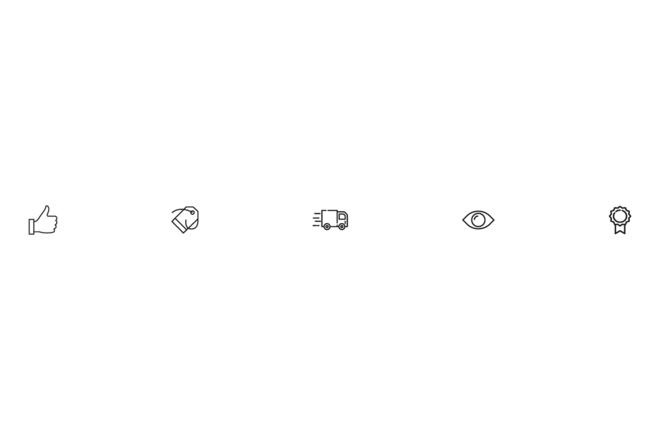 Создам 5 иконок в любом стиле, для лендинга, сайта или приложения 52 - kwork.ru