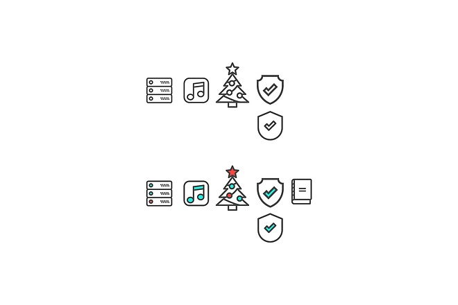 Создам 5 иконок в любом стиле, для лендинга, сайта или приложения 49 - kwork.ru