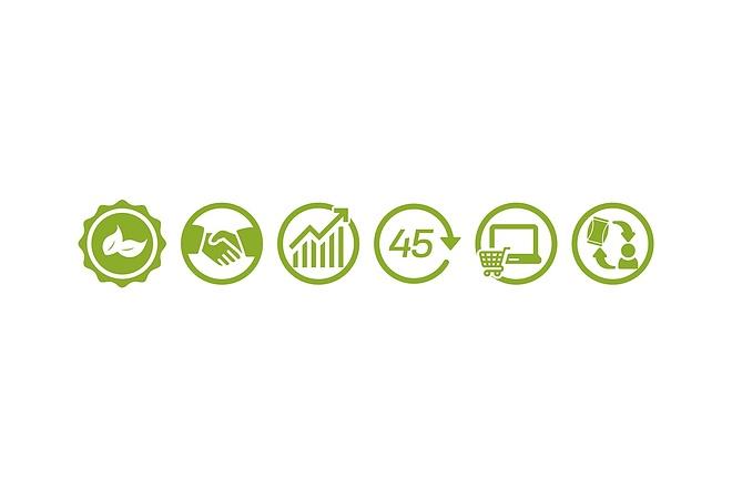 Создам 5 иконок в любом стиле, для лендинга, сайта или приложения 42 - kwork.ru