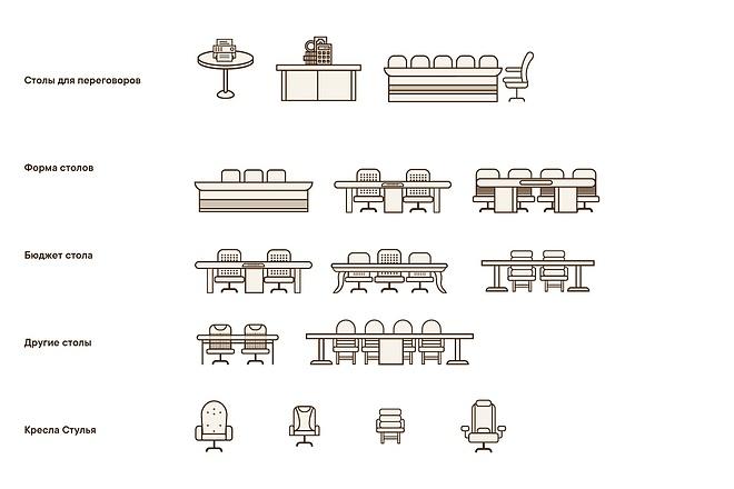 Создам 5 иконок в любом стиле, для лендинга, сайта или приложения 41 - kwork.ru