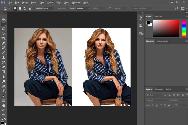 Уберу фон с фото,  замена фона на фото 3 - kwork.ru