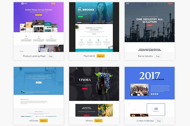 ПАК 1000 шаблонов и дополнений для WordPress 69 - kwork.ru