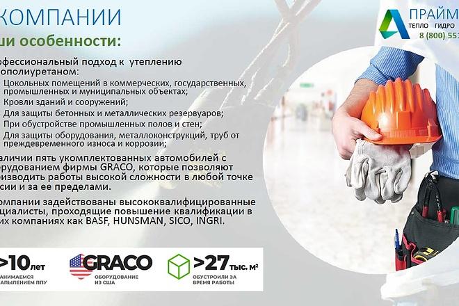 Подготовлю презентацию в MS PowerPoint 7 - kwork.ru