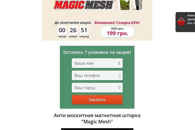 Скопирую Landing Page, Одностраничный сайт 54 - kwork.ru