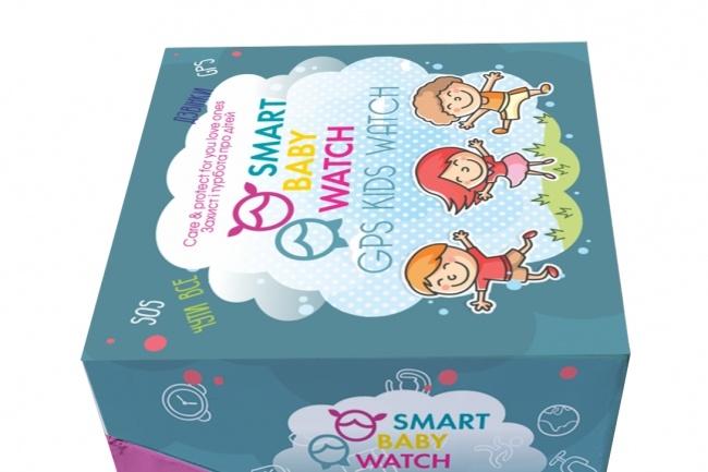 Создам дизайн простой коробки, упаковки 53 - kwork.ru