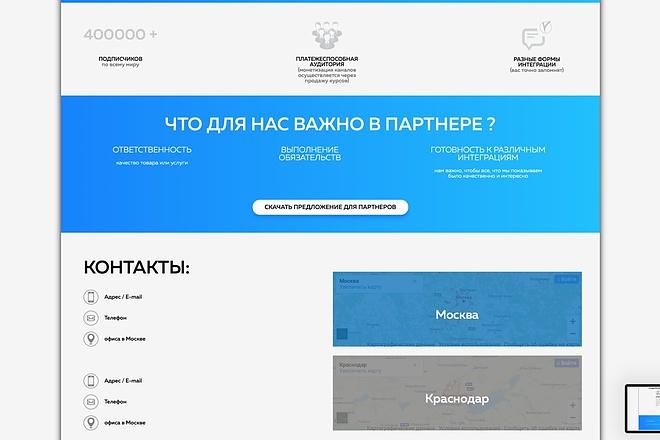 Вёрстка сайтов по доступной цене 114 - kwork.ru