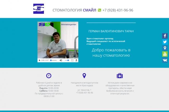 Создам простой сайт на Joomla 3 или Wordpress под ключ 53 - kwork.ru