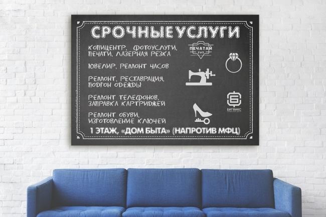 Разработаю дизайна постера, плаката, афиши 36 - kwork.ru