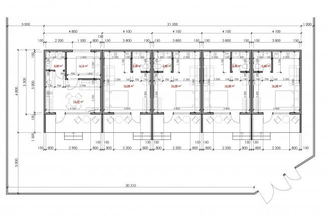 Разработка проекта индивидуального жилого дома 3 - kwork.ru