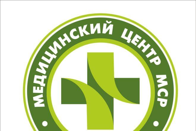 Сделаю профессионально логотип по Вашему эскизу 30 - kwork.ru