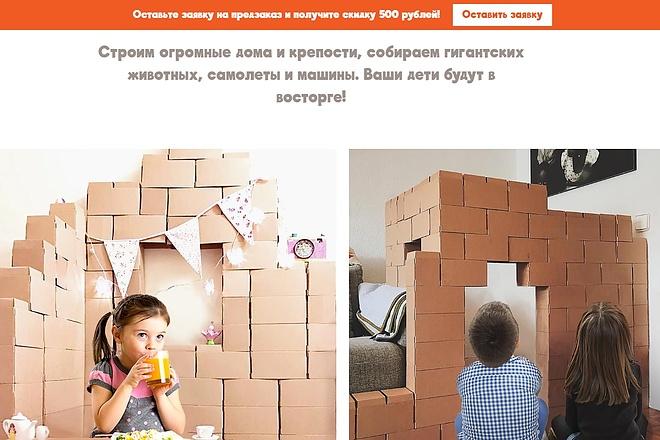 Скопирую одностраничный сайт, лендинг 33 - kwork.ru