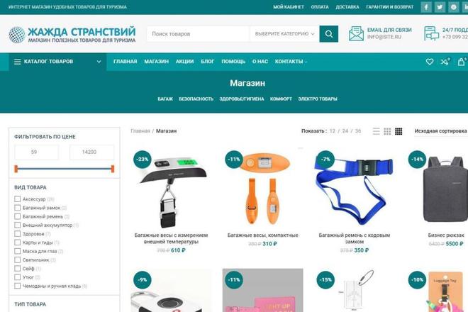 Профессиональный интернет-магазин под ключ премиум уровня 2 - kwork.ru