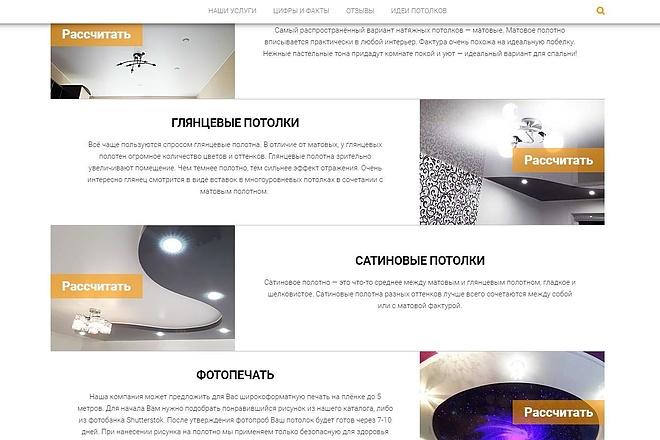Лендинг для любых целей на Wordpress 61 - kwork.ru