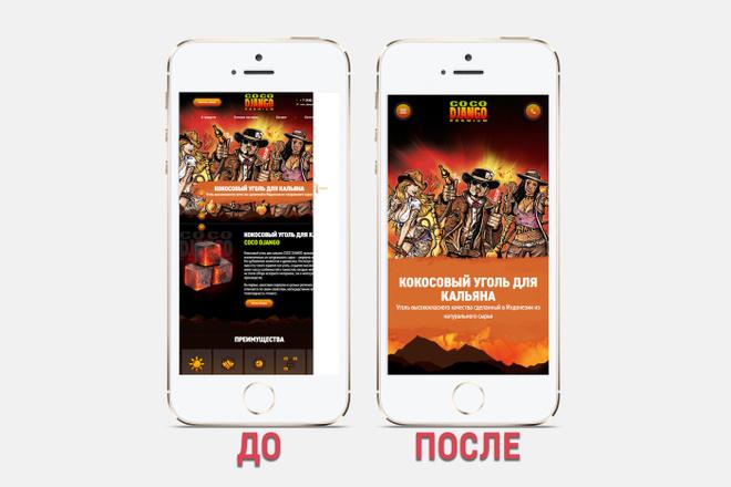 Адаптация сайта под все разрешения экранов и мобильные устройства 60 - kwork.ru