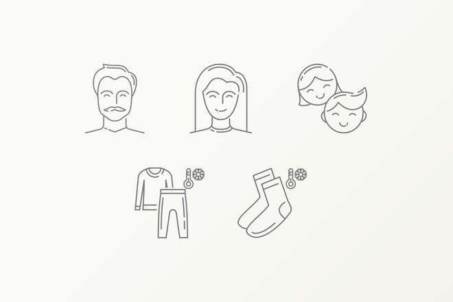 Дизайн иконок 1 - kwork.ru