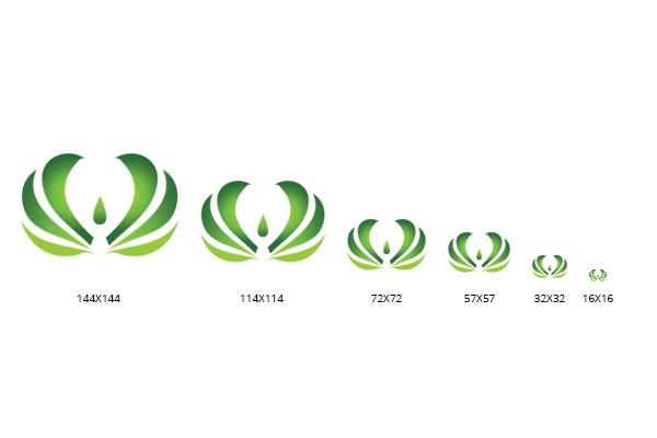 Сделаю иконку для сайта фавикон favicon 6 разных размеров 10 - kwork.ru