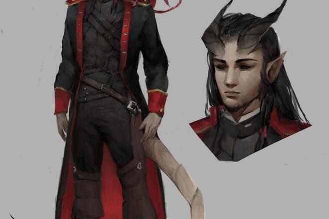Концепт арт и Дизайн персонажа 8 - kwork.ru
