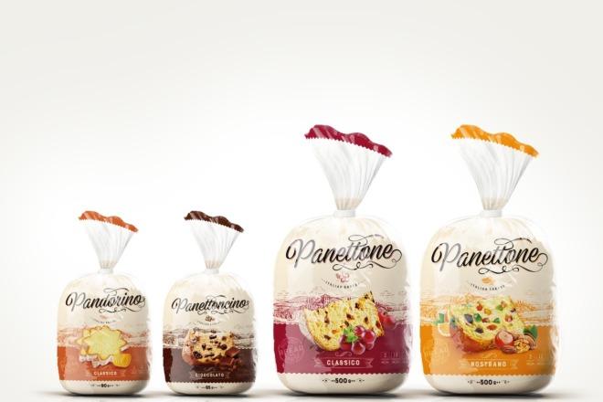 Дизайн упаковки для хлеба, выпечки, тортов, булочек, пирожных 1 - kwork.ru