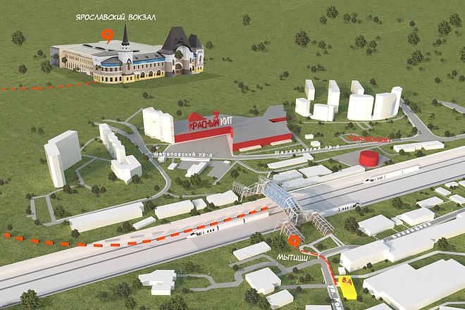 Качественная 3D визуализация экстерьера в 3dsMax 7 - kwork.ru