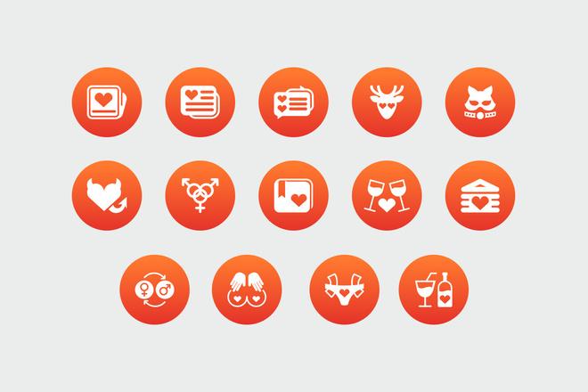 Дизайн иконок 14 - kwork.ru