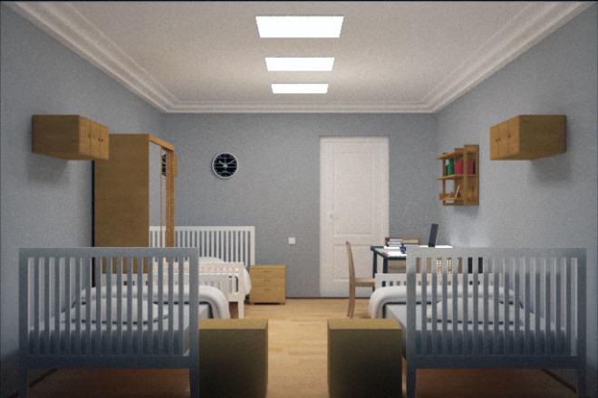 Сделаю визуализацию торговых залов, рабочих мест, квартир, домов 2 - kwork.ru