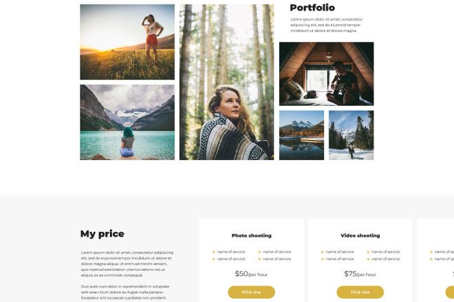 Дизайн любой страницы сайта + бонусы 13 - kwork.ru