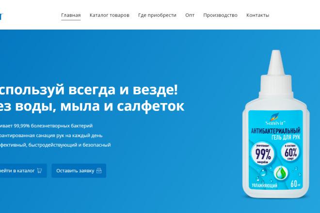 Разработаю продающий Landing Page под ключ на WordPress 1 - kwork.ru