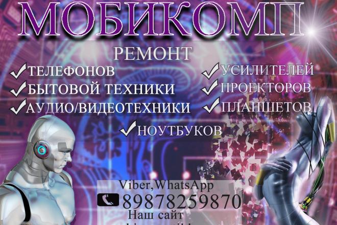 Разработаю рекламный баннер для продвижения Вашего бизнеса 18 - kwork.ru