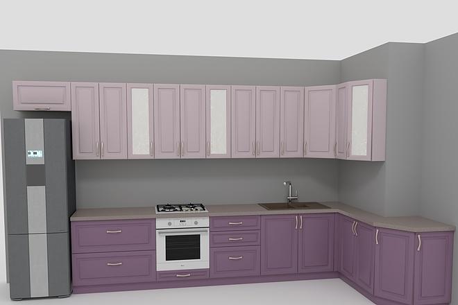 Визуализация мебели, предметная, в интерьере 26 - kwork.ru