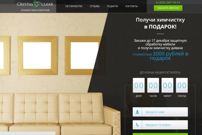 Продающий Landing Page под ключ 41 - kwork.ru