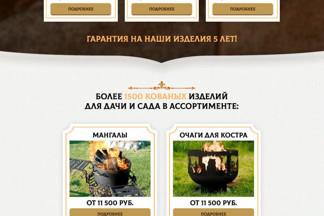 Сайт под ключ. Landing Page. Backend 20 - kwork.ru