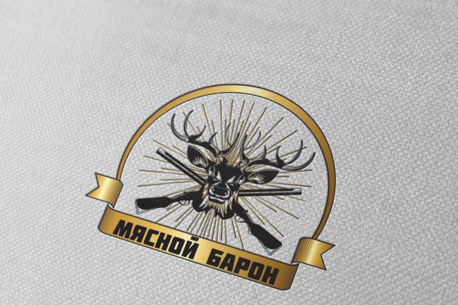 Разработаю винтажный логотип 77 - kwork.ru