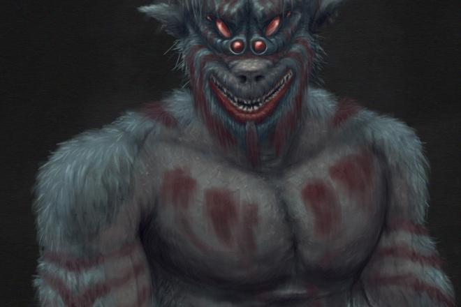 Нарисую иллюстрацию или персонажа от руки 7 - kwork.ru