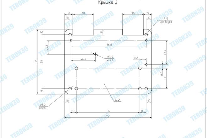 Выполняю простые и сложные чертежи в AutoCAD 12 - kwork.ru