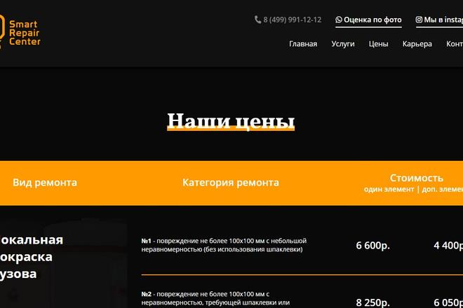 Профессионально и недорого сверстаю любой сайт из PSD макетов 36 - kwork.ru