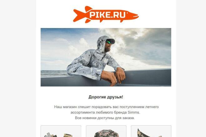 Создание и вёрстка HTML письма для рассылки 28 - kwork.ru