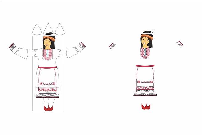 Отрисую в векторное изображение по картинке, рисунку 21 - kwork.ru