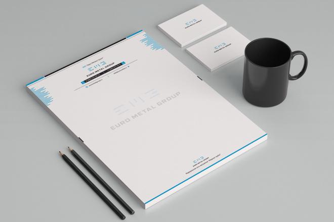 Создам фирменный стиль бланка 42 - kwork.ru