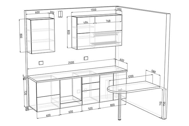 Конструкторская документация для изготовления мебели 117 - kwork.ru